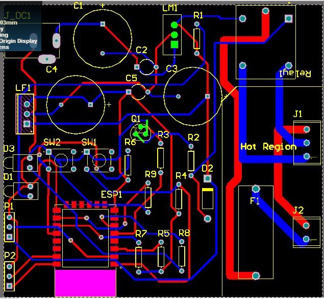 طراحی پی سی بی DIP
